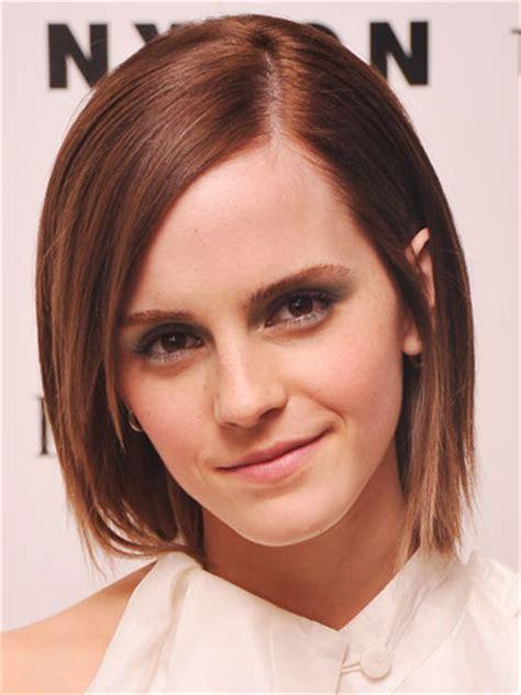 straight cut just under chin length hair frizure poznatih dama stilovi za svaku dužinu