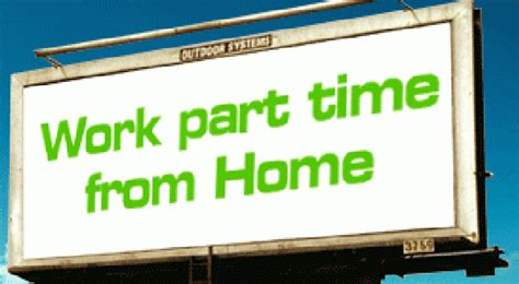work from home part time marketers