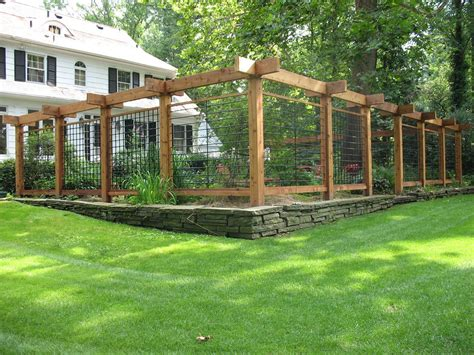 Ideas For Garden Fencing Gallery Gallery Ideas For Fencing In A Garden