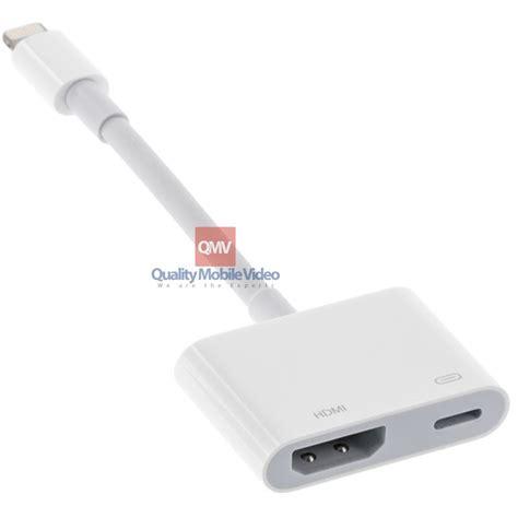 Lighting To Hdmi Adapter apple 174 md826am lightning to hdmi digital av adapter