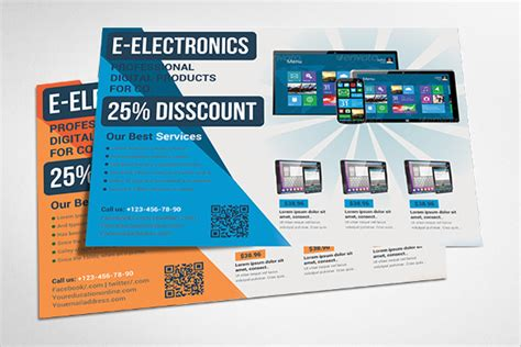 promotional flyer templates wonderful promotional flyer template 20