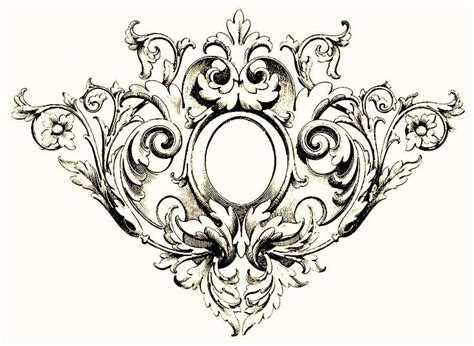 filigree pattern frame filigree design inspired physique design pinterest
