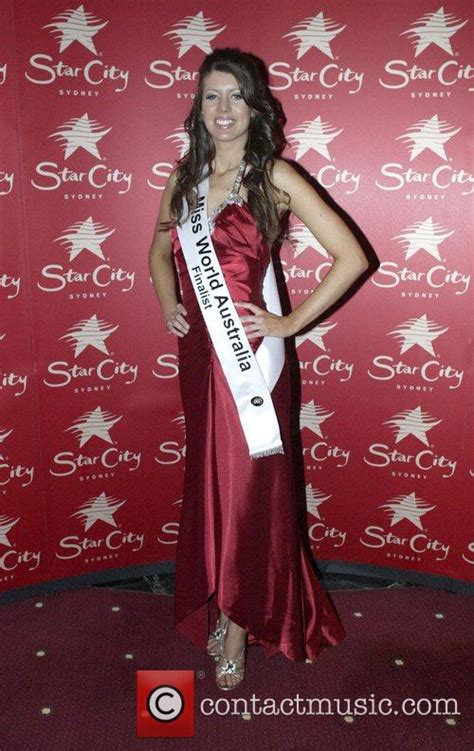 Rees Reveling As Miss City by Contestant Mundy Miss World Australia 2008