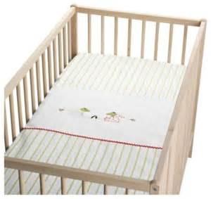 fabler groda crib duvet cover pillowcase scandinavian