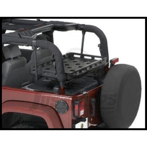 lowered 4 door jeep wrangler jeep parts buy bestop highrock 4x4 lower cargo rack