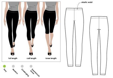 pattern grading leggings laura knit legging