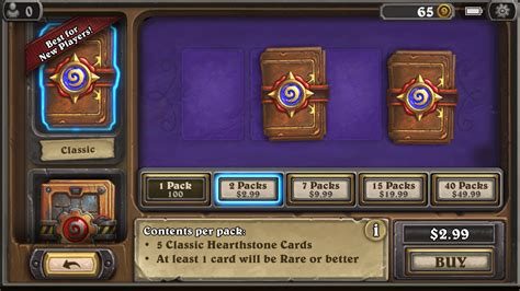 Can You Gift Card Packs In Hearthstone - you should play get your world of warcraft fix with hearthstone macworld