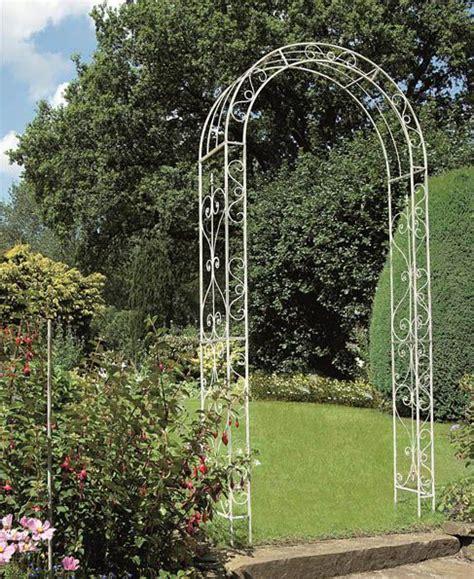 Metal Garden Arch Uk Gardman Metal Loire Decorative Iron Garden Arch Signature