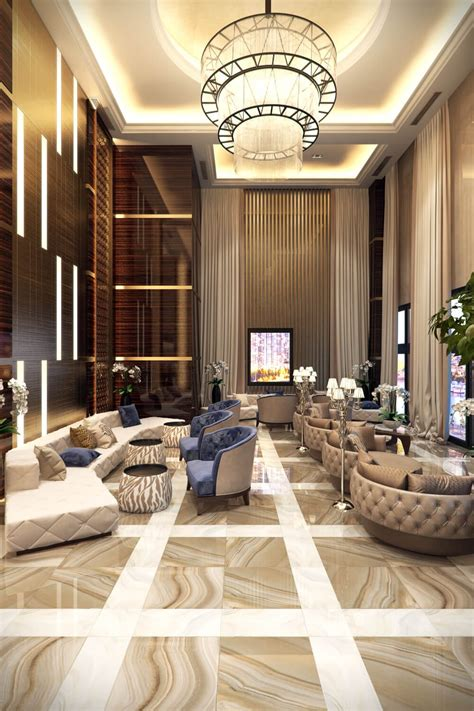commercial interior design rendering elegant luxury archicgi