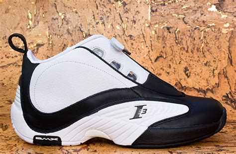 reebok answer iv white black pre order at packer shoes
