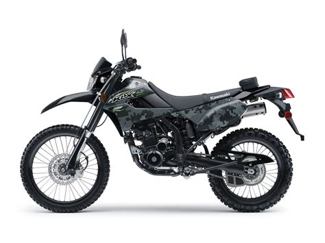 Motor Kawasaki Klx 2018 kawasaki klx250s camo review total motorcycle