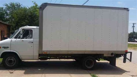 chevrolet c 30 box truck 1995 box trucks