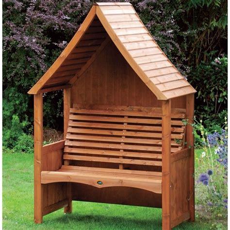 Wooden Arbour Goodwood Wooden Garden Arbour The Garden Factory