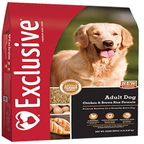 exclusive puppy food exclusive chicken rice formula performance food creek feed