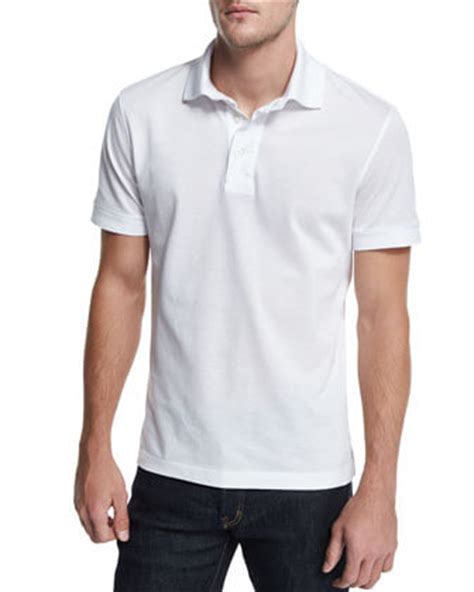 tom ford polo tom ford sleeve pique polo shirt weston