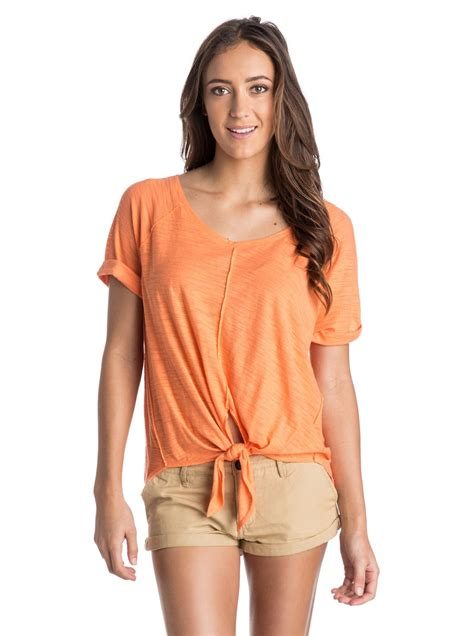 Squeeze Front Top 1 middle ranch front tie top arjkt03116
