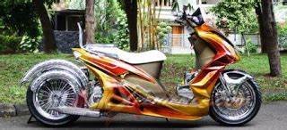 kombinasi warna teduh akan dominasi modifikasi motor 2013 simple modifikasi yamaha mio lowrider sporty soul