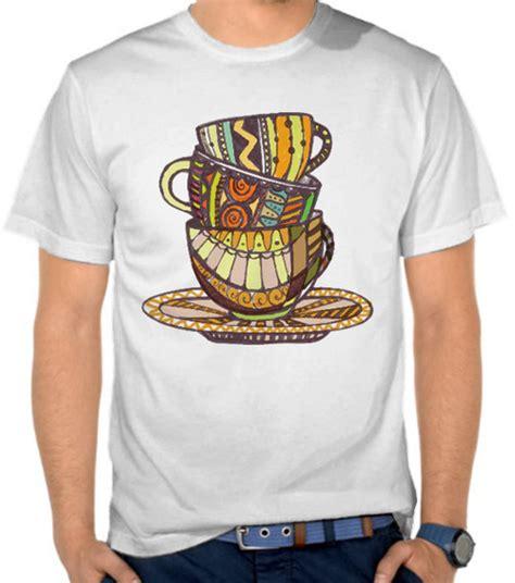 Kaos Kopi Adventure jual kaos cangkir kopi penggemar kopi satubaju