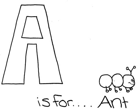 coloring page letter aa free coloring pages of the letter aa