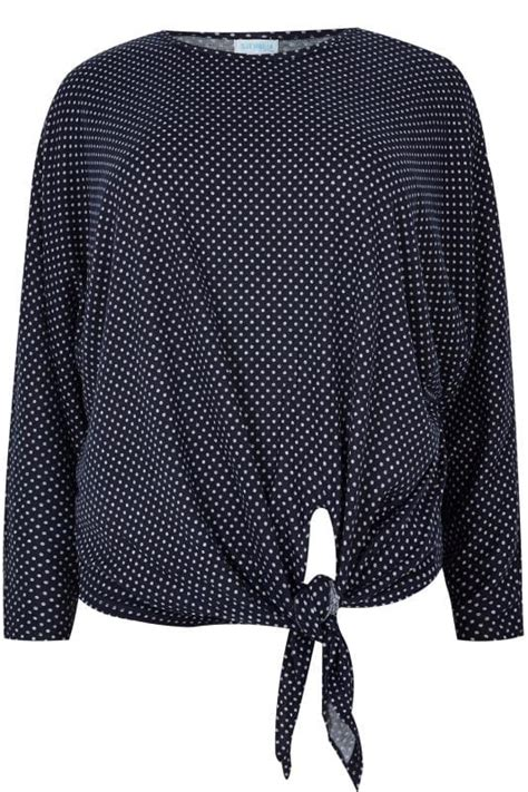 Vanilla Mastercard Gift Card Not Working - blue vanilla curve navy white polka dot knot top plus size 18 to 28