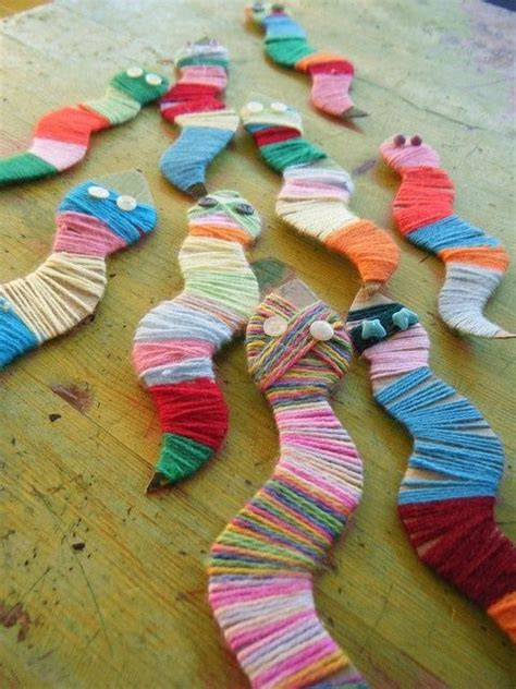 wool craft ideas for 25 best ideas about snake crafts on