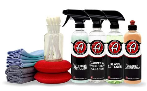 Cloth Upholstery Cleaner Top 30 Best Car Cleaning Kits The Heavy Power List