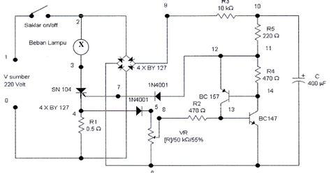 Saklar Elektronik margiono abdil berbagi rangkaian scr sebagai saklar