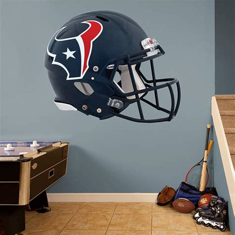 Texans Wall Decor by Houston Texans Helmet Wall Decal Shop Fathead 174 For
