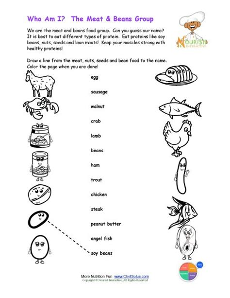 guess d vegetables name printable match the beans names and color the