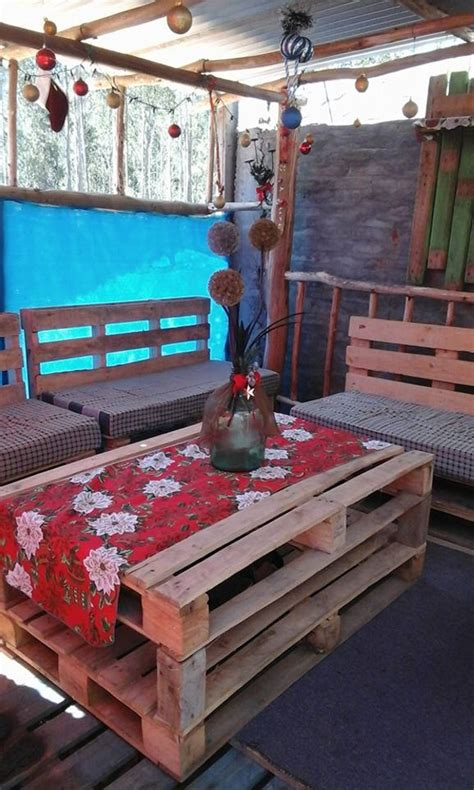 Patio Table Out Of Pallets Patio Creations Out Of Wooden Pallets Pallet Ideas