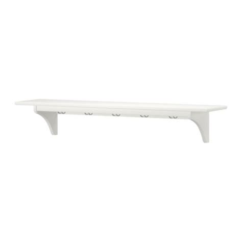 ikea estantes de pared stenstorp estante de pared blanco 120 cm ikea