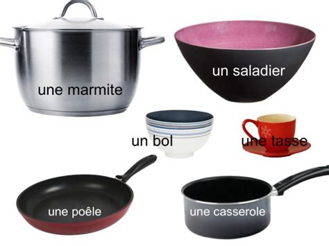 d馭inition cuisine am駭ag馥 play les ustensiles de cuisine et la vaisselle by