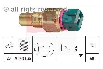 Switch Temperatur Baleno temperature sensor for ducato scudo ulysee 133827 ebay
