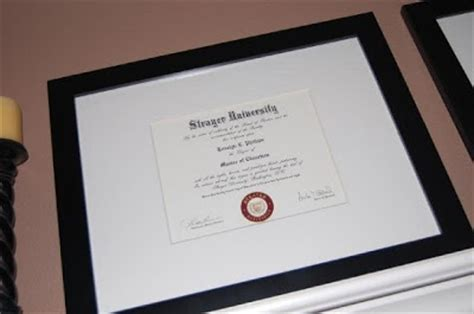 Strayer 10 Course Mba by Roselyn S 101 In 1001 94 Frame College Diplomas Mike S