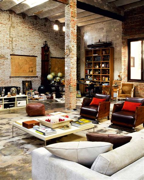 industrial interior design renovated loft with industrial interior design digsdigs