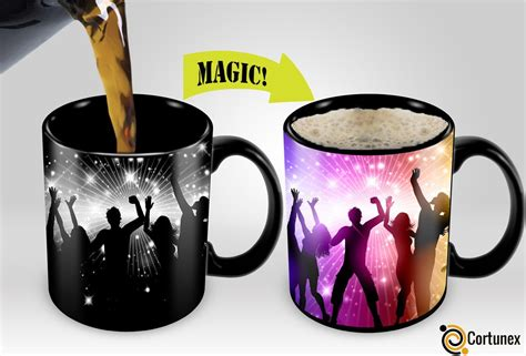 color changing coffee mug magic coffee mugs travel mug heat sensitive color changing