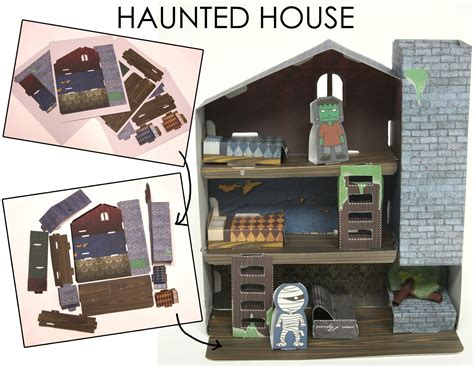 Haunted Mansion Papercraft - my artwork archives chic creative
