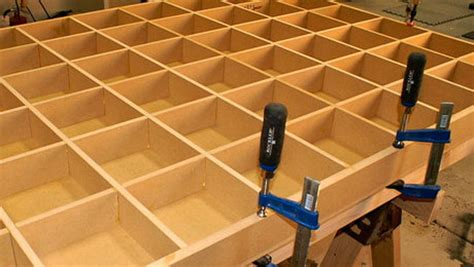 build  torsion box assembly table finewoodworking