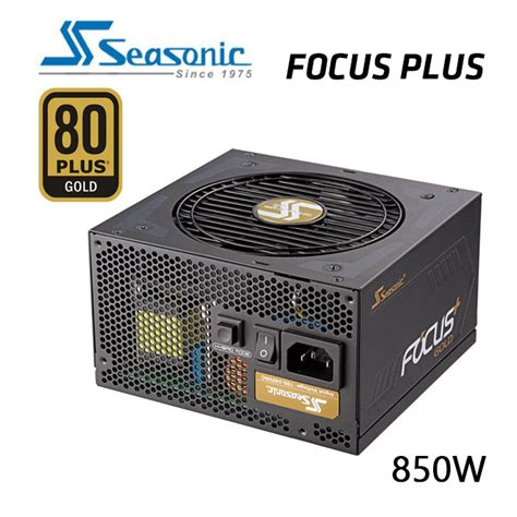 Seasonic Focus Plus Gold Fx 850 80 Gold Modular 10 Year Warranty seasonic ssr 850fx focus plus 850w 80 gold power supply direct bargain