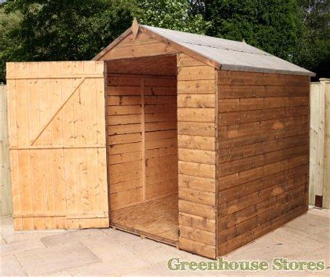 6x6 Wood Shed