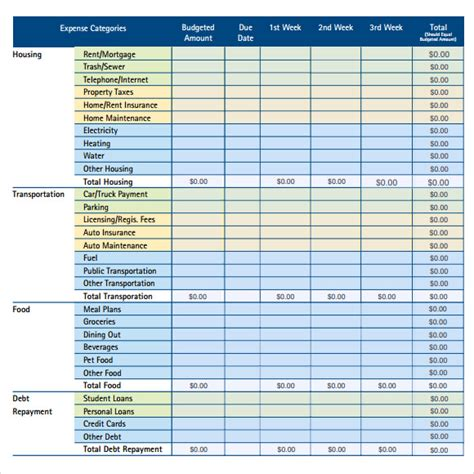 monthly budget spreadsheet template sle monthly budget free template monthly home budget