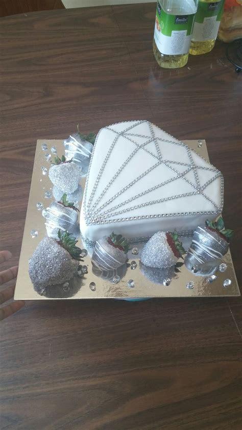 25  best ideas about Diamond cake on Pinterest   Pastel