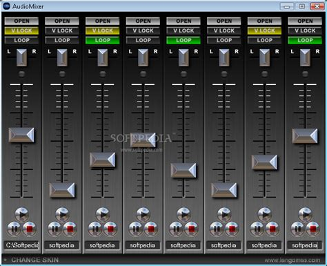audio mixer player