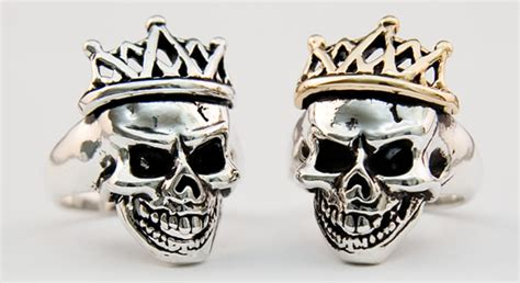 Skull Ring King skull jewelry custom jewelry skull rings skull bracelets