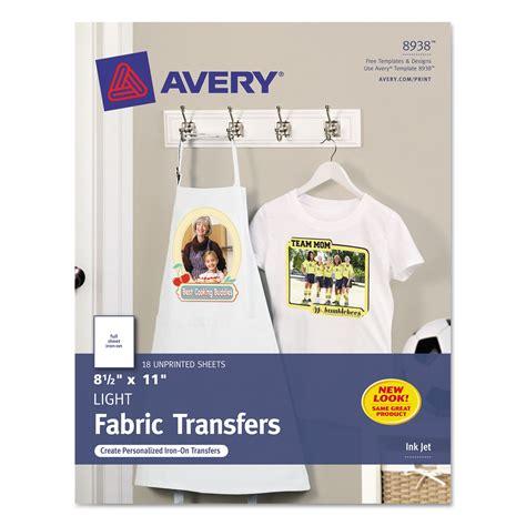 printable fabric inkjet printers light fabric transfers for inkjet printers by avery