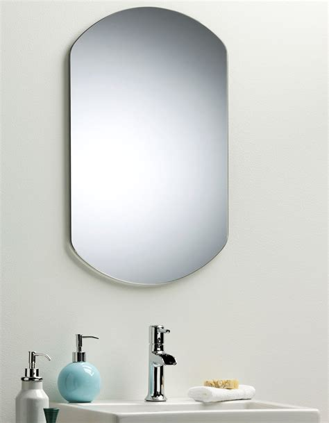 plain bathroom mirrors bathroom mirror simple elegant plain design wall mounted