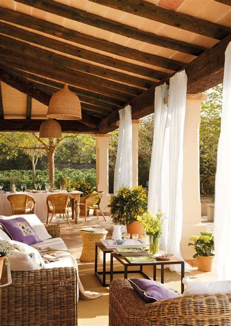 lovely mediterranean outdoor spaces designs