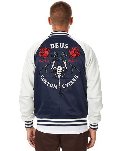 Hoodie Deus Ex Machina Lp deus ex machina souvenir mens jacket black navy surfstitch