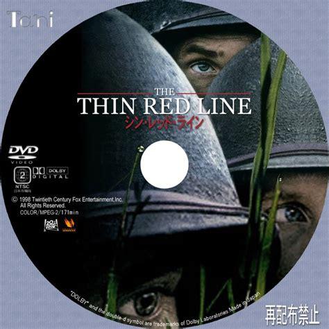 Dvd Original The Thin Line Region 2 ショーン ペン penn tanitaniの映画 自作dvdラベル bdラベル