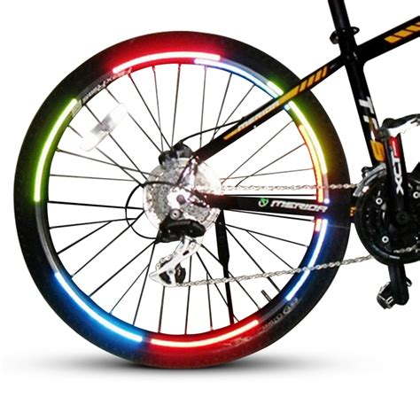 Bicycle Wheel Reflective Sticker Stiker Roda Sepeda Limited bicycle wheel reflective sticker stiker roda sepeda 8